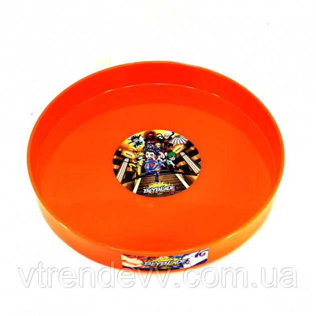 Арена круглая Бейблэйд Beyblade 35 см оранжевая