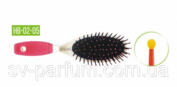 HB-02-05 Щетка массажная для волос LUXURY