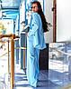 Жіночий костюм з брюками - труби в кольорах А-5-0919 (6444), фото 4