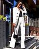 Жіночий костюм з брюками - труби в кольорах А-5-0919 (6444), фото 2