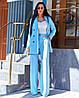 Жіночий костюм з брюками - труби в кольорах А-5-0919 (6444), фото 6