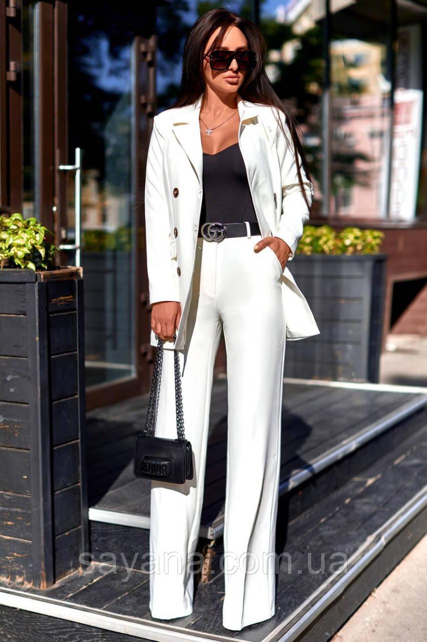 Жіночий костюм з брюками - труби в кольорах А-5-0919 (6444)