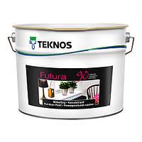 Фарба глянцева Teknos Futura 90, Б1, 9л