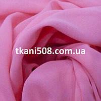 Шифон однотонний(Рожевий)