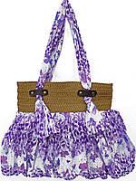 Удобная женская сумочка с узором