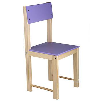 Стульчик детский деревянный ИГРУША 56 см Фиолетовый