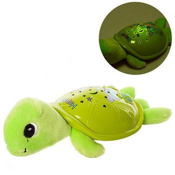 Светильник ночник музикальный Childhood Черепаха (JLD-22AB)