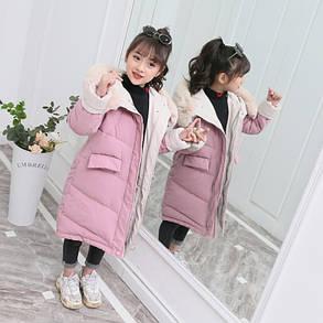 Детская теплая  куртка на девочку, фото 2