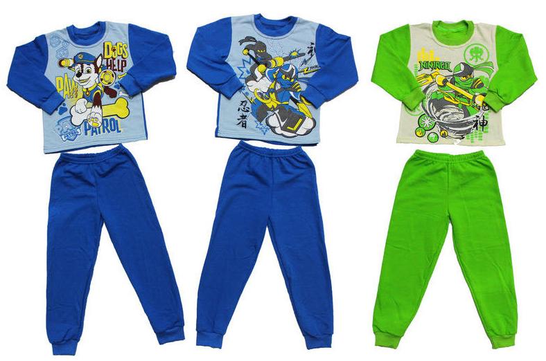 Пижама для мальчика на байке, Украина, Детки-текс, арт. 0314