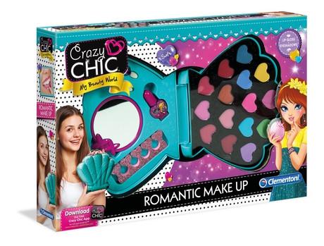 Набор Косметики Романтический макияж Crazy Chic 78422 Clementoni