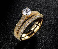 Как выбрать позолоченное кольцо на подарок?