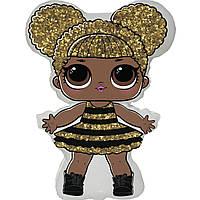 Фольгированные шары большие  фигура кукла лол квин би lol queen bee 60х86 см FlexMetal