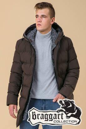 Удлиненная мужская зимняя куртка (р. 46-56) арт. 29077A, фото 2