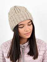 Женская шапка veilo 3383 лен, фото 1