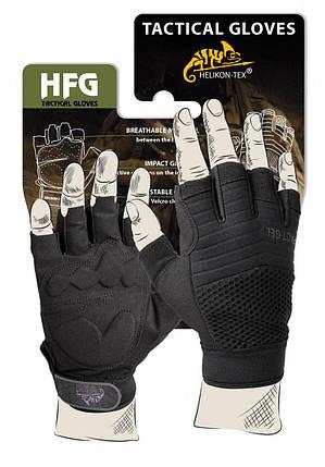 Перчатки тактические Helikon-Tex® беспалые HFG Gloves (RK-HFG-PO-01) размеры: L, ХL, ХХL, фото 2