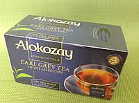 "Чай черный с бергамотом в конвертиках ""Alokozay"", 25х2 г"