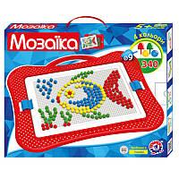 Детская развивающая Игра Мозаика пластиковая 340 элементов, Технок 4 Украина 3367