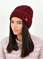 Женская шапка veilo 3383 марсала, фото 1