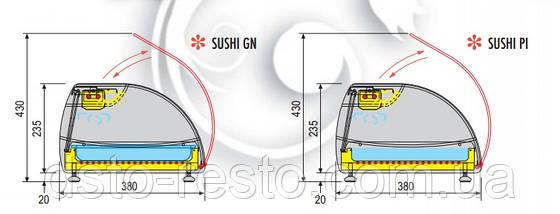 Суши-кейс ColdMaster SUSHI 6 GN, фото 3