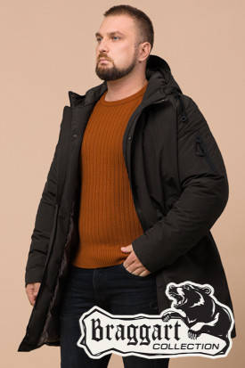 Мужская длинная зимняя куртка Braggart (р. 46-56) арт. 23425U, фото 2