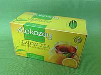 """Чай черный с лимоном в конвертиках """"Alokozay"""", 25х2 г"""