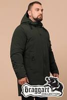 Мужская удлиненная зимняя куртка Braggart (р. 46-56) арт. 23425M