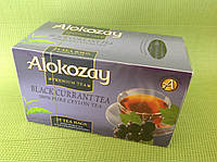 """Чай черный со смородиной в конвертиках """"Alokozay"""", 25х2 г"""