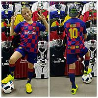 Футбольная форма для детей ФК Барселоны Месси сезон 2019-2020г