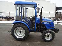 Трактор с доставкой DONGFENG DF244DHXC(3цил, 24л.с. гур, кабина)