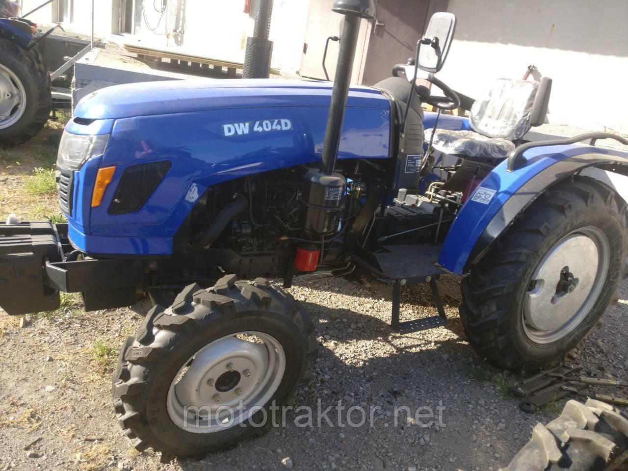 Трактор с доставкой DW 404D (4х4, Гидроусилитель руля, доставка)