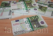 Сувенирные деньги пачка 100 евро