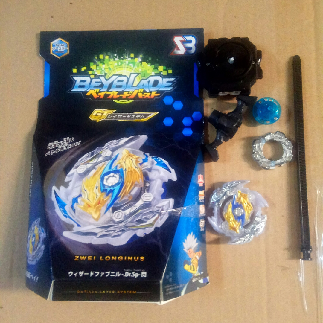 Бейблейд  Beyblade  Цвай Луинор В-144 SB Lost Luinor zwei longinus