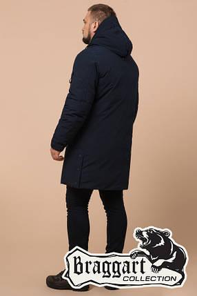 Мужской зимний темно-синий пуховик Braggart (р. 46-56) арт. 23425B, фото 2
