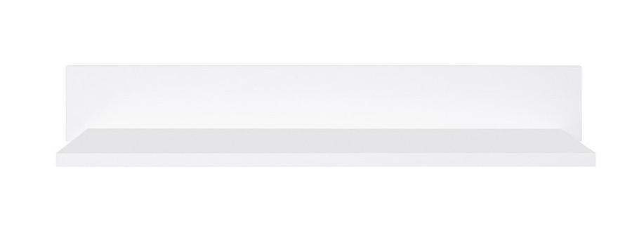 Полка навесная Авила P_2/12 белый/белый глянец (003)