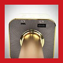 Беспроводной микрофон караоке bluetooth Q7 золотой, фото 3