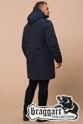 Мужская удлиненная синяя зимняя куртка Braggart (р. 46-56) арт. 23425D, фото 2