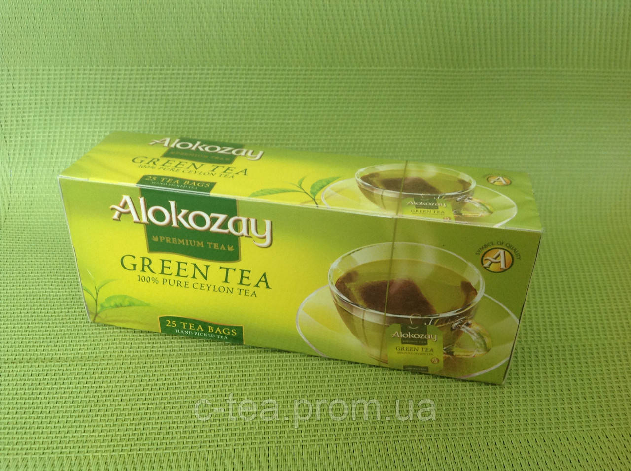 Чай зеленый в пакетиках