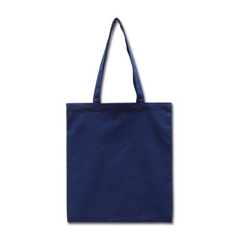 Эко-сумка из хлопка синяя (35х41 см.), шоппер, сумка для покупок