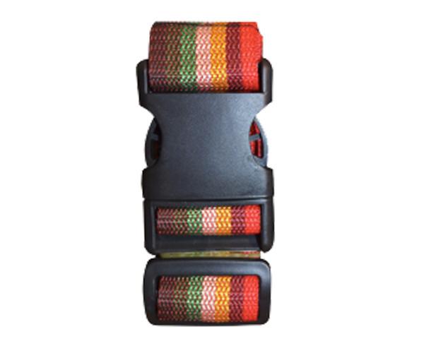 Багажные ремни Coverbag М  желто-красные