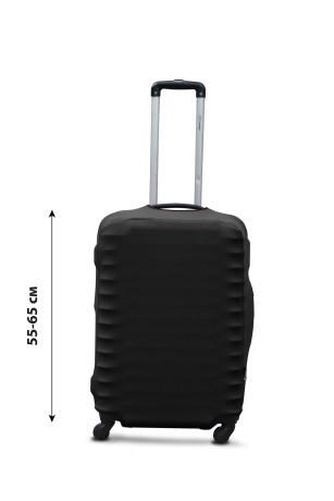 Чехол для чемодана  Coverbag дайвинг  M черный