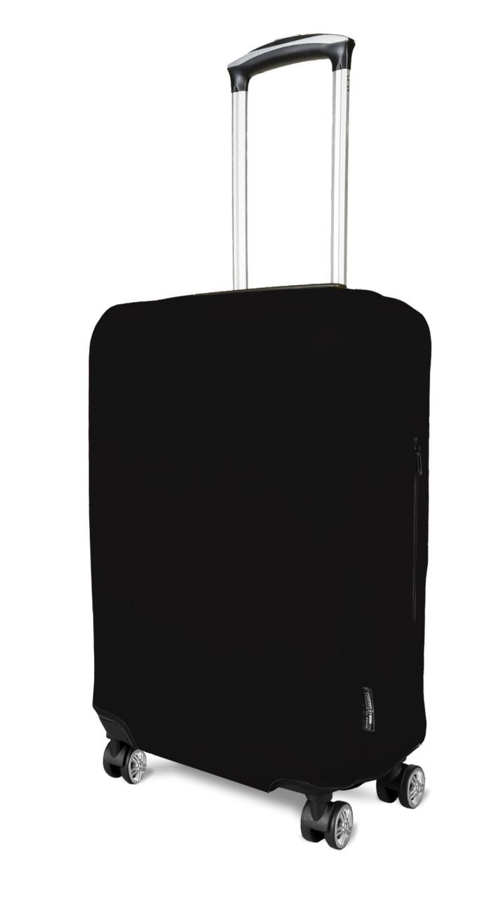 Чехол для чемодана Coverbag неопрен  L черный