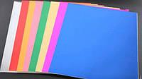 Картон A4 фольгированный NPT, 21х29см односторонний 8листов 220г/м2 Fresh уп10