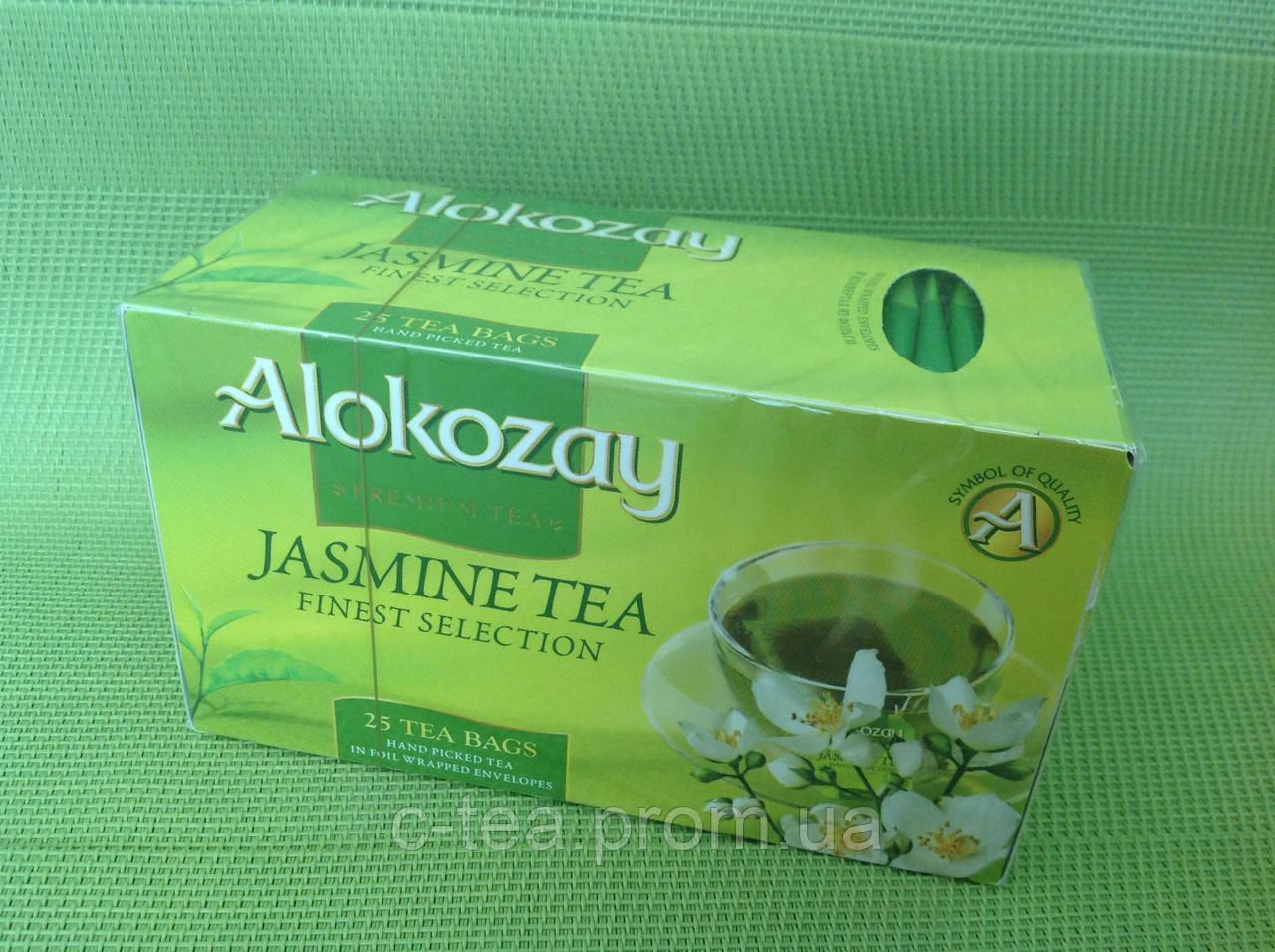 Чай зеленый с жасмином в пакетиках