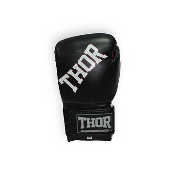 THOR RING STAR (Leather) BLK-WHITE-RED, фото 2