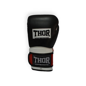 THOR PRO KING (Leather) BLK-RED-WHT, фото 2