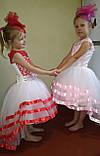 Дитяча сукні видовжене ззаду на худеньку дівчинку 104-116, фото 3