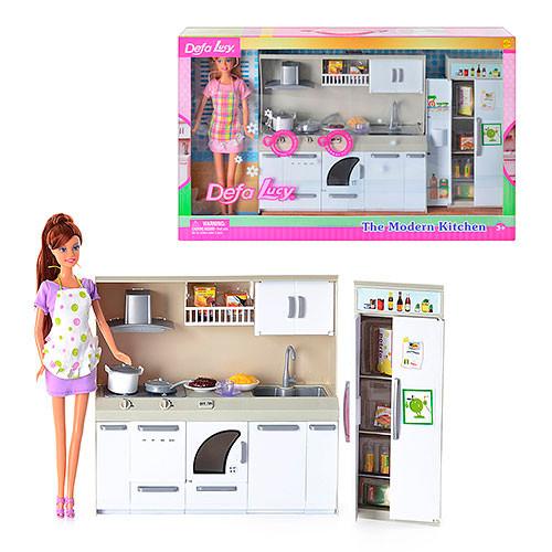 Лялька Defa  з набором Кухня 6085