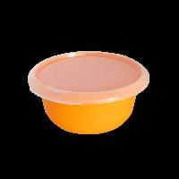 Миска пластиковая кухонная с крышкой Алеана 1,75 л