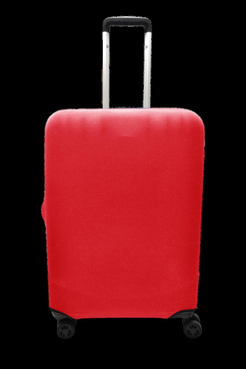 Чехол для чемодана  Coverbag микродайвинг  M красный