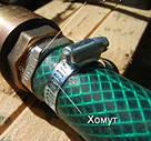 Хомут стальной оцинкованный 12,7 мм D 33-57 мм INTERTOOL, фото 3